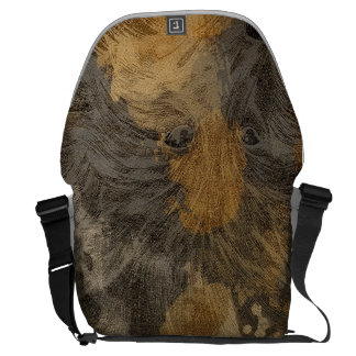 Head of wolf messenger bags
