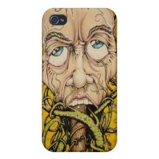 Head on a Pole iPhone 4/4S Covers