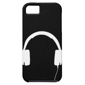 Head Phones iPhone 5 Tough Case