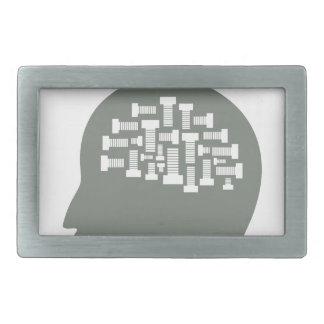 Head Rectangular Belt Buckles