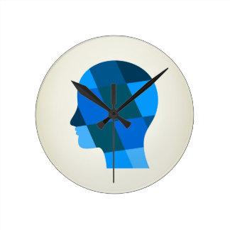 Head Round Clock