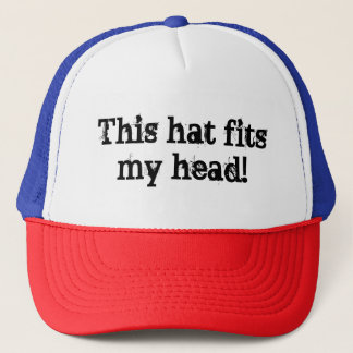 """Head-shaped"" Novelty Trucker Hat"