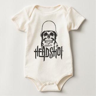 Head Shot Baby Bodysuit