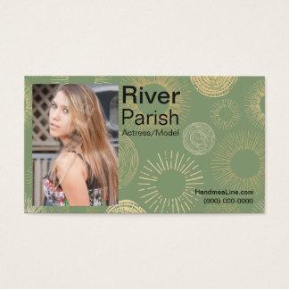 Head shot Business Card Models or Actors