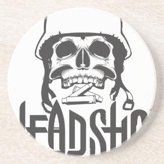 Head Shot Coaster