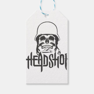 Head Shot Gift Tags