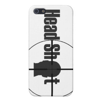 Head Shot Cover For iPhone 5