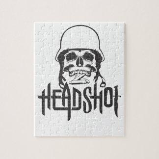 Head Shot Jigsaw Puzzle