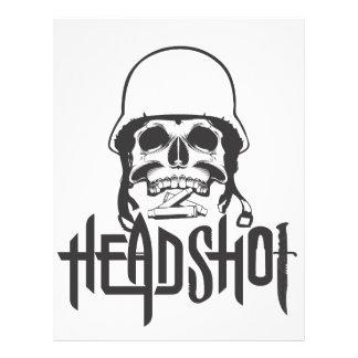 Head Shot Letterhead