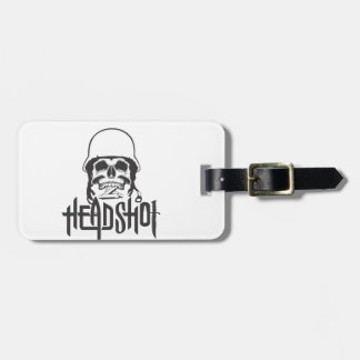 Head Shot Luggage Tag