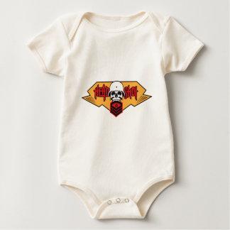 Head Shot print Baby Bodysuit