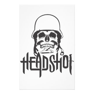 Head Shot Stationery