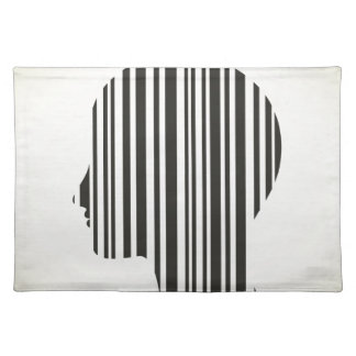 Head stroke a code placemat