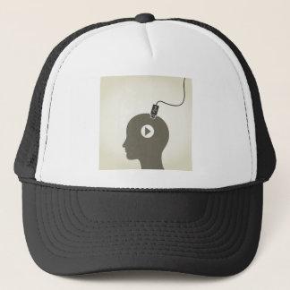 Head the computer trucker hat
