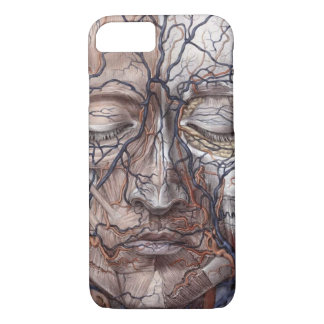 Head Veins and Muscles iPhone 7 Case