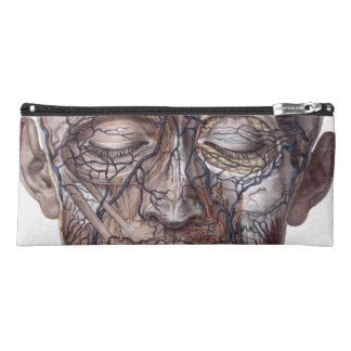 Head Veins and Muscles Pencil Case