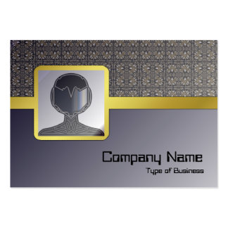 Headache Inducing Grid Pack Of Chubby Business Cards