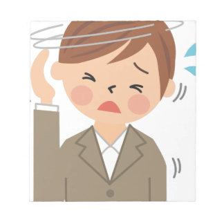 Headache Notepad