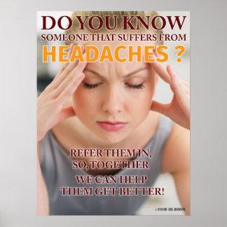Headache Poster 18 x 24