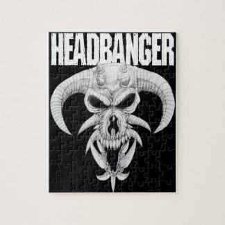 Headbanger Skull Jigsaw Puzzle