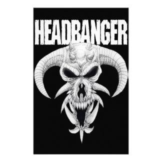 Headbanger Skull Stationery