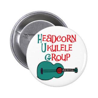 Headcorn Ukulele Group Pin Badge