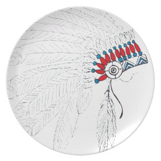 Headdress Plate