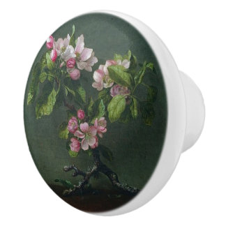 Heade Apple Blossoms Flower Sprig Knob