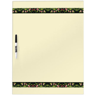 Heade Apple Blossoms Flowers Dry Erase Board