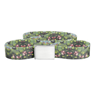 Heade Apple Blossoms Flowers Floral Belt