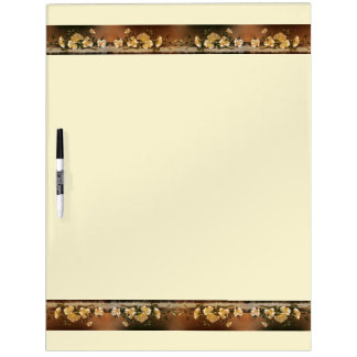 Heade Cherokee Rose Flowers Dry Erase Board