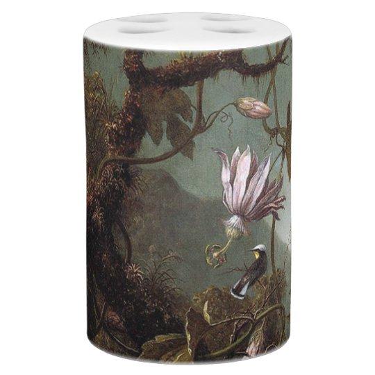 Heade Hummingbird Bird Animals Flower Bath Set