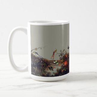Heade Hummingbird Bird Passion Flowers Mug