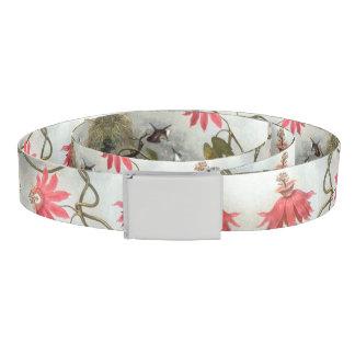 Heade Hummingbird Birds Passion Flowers Belt