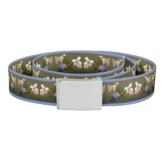 Heade Lily Heliotrope Flowers Floral Trim Belt