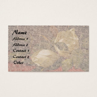 Heade Magnolia Flowers Floral Business Cards