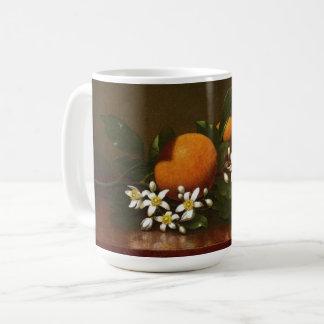 Heade Orange Blossoms Flowers Oranges Mug