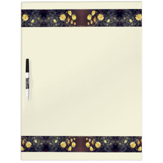 Heade Summer Daisies Flowers Dry Erase Board