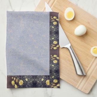Heade Summer Daisies Flowers Floral Kitchen Towels