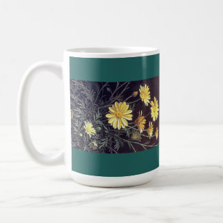 Heade Summer Daisy Flowers Floral Trim Mug
