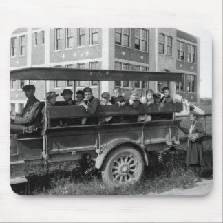Headed to School, 1921 Mouse Pad
