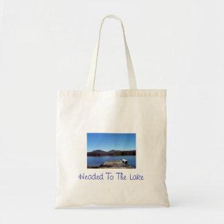 Headed to The Lake Tote