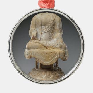 Headless Buddha - Tang dynasty (618–907) Metal Ornament