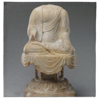 Headless Buddha - Tang dynasty (618–907) Napkin