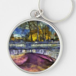 Headless Horseman Bridge Art Keychain