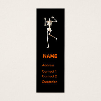 Headless Skeleton - Skinny Mini Business Card