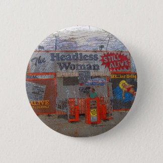 Headless Woman 2 Inch Round Button