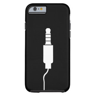 Headphone Jack Pictogram iPhone 6 Case Tough iPhone 6 Case