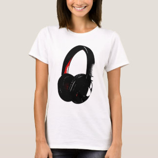 Headphone Pop Art Head Phone T-Shirt