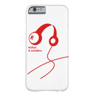 Headphone RED Barely There iPhone 6 Case
